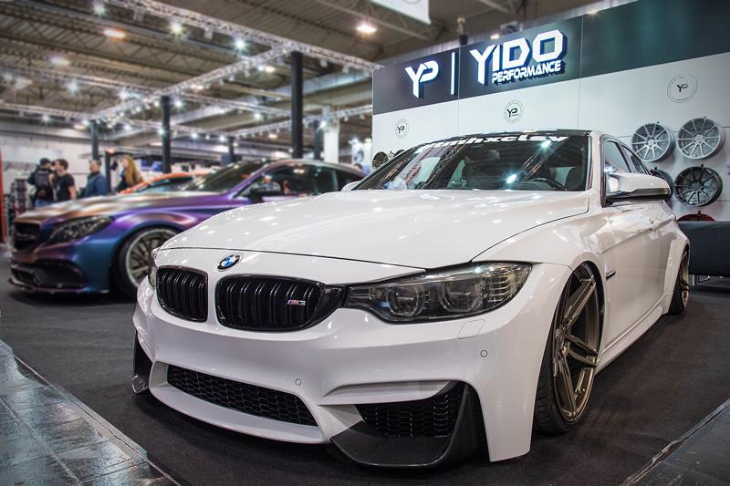 Essen Motor Show 2017: BMW M3 (F80) am Stand von Yido Wheels in Halle 2.
