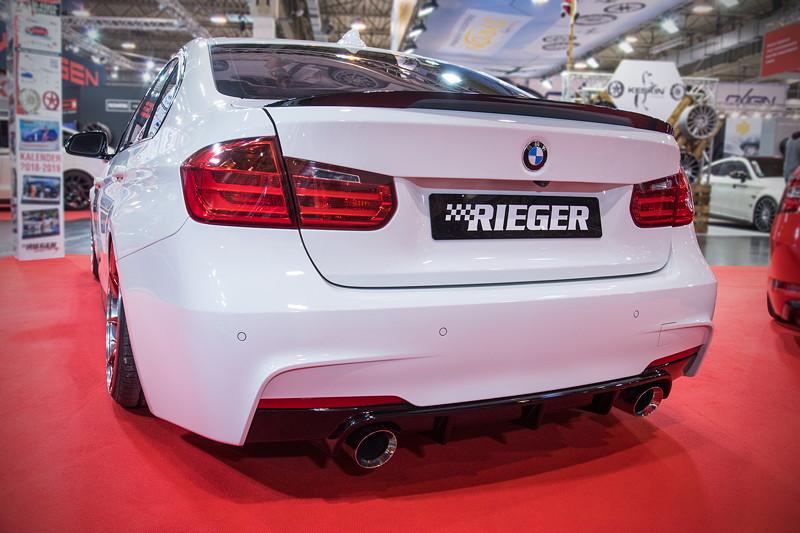Essen Motor Show 2017: BMW 335i (F30), mit Air Lift Performance Luftfahrwerk (2.318 Euro).