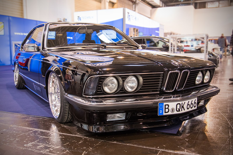 BMW 6er (E24) auf dem Stand von TA Technix, Essen Motor Show 2017