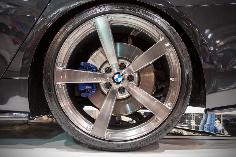 Essen Motor Show 2017: BMW M550i auf 3DDesign Type 3 Forged Felgen in 20 Zoll.