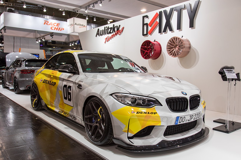 Essen Motor Show 2017, Serienleistung 370 PS / 465 Nm.