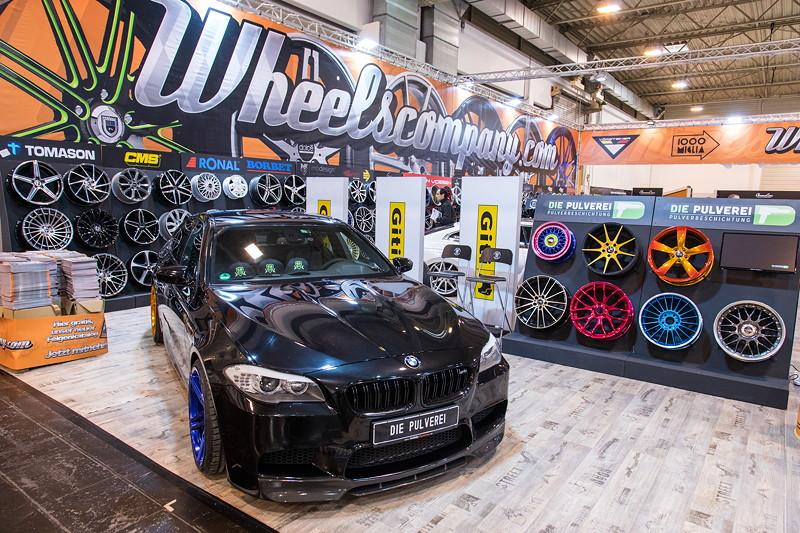 Essen Motor Show 2017: BMW M5 (F10) auf dem Stand von 'Wheelscompany' in Halle 2.