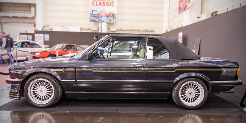Essen Motor Show 2017: BMW Alpina C2/1 2.7, Baujahr: 1986, Tacho: 129.969 km. Preis: 95.000 Euro.