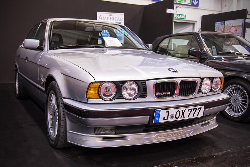 Alpina B10 3.0 Allrad (E34), Baujahr 1993, Tacho: 153.411 km. Preis: 45.000 Euro.