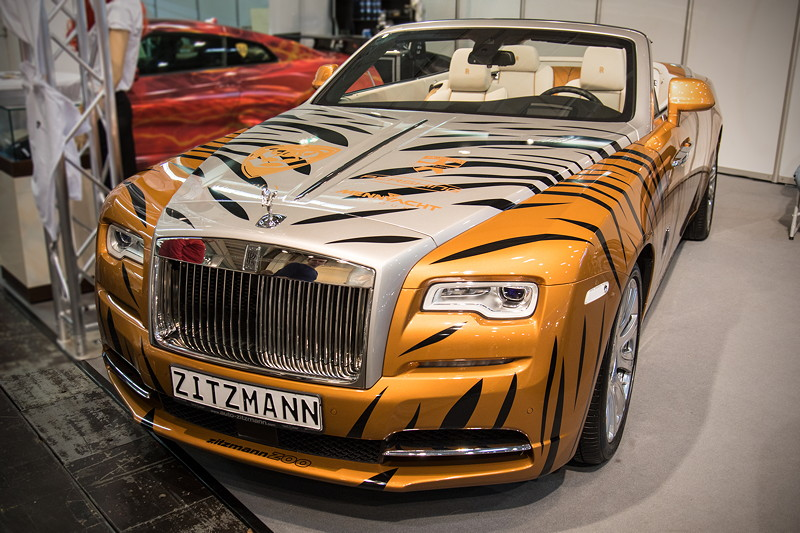 Essen Motor Show 2017: Rolls-Royce Dawn