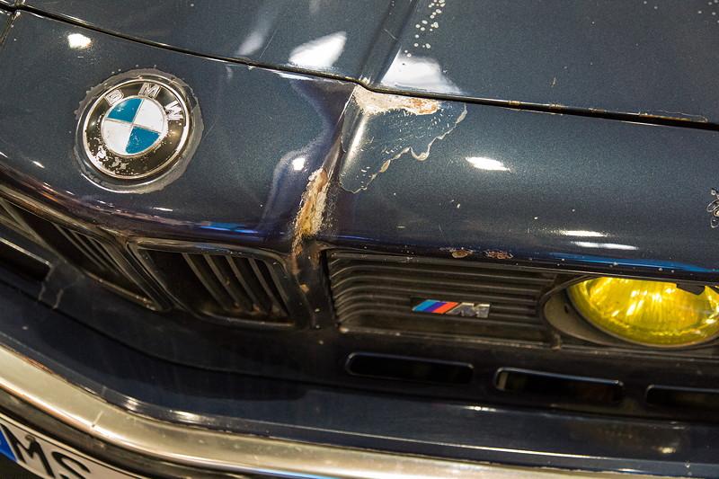 Essen Motor Show 2017: BMW M635CSi (E24) in einem nicht ganz so gutem Zustand.