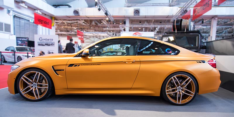 Essen Motor Show 2017: G-Power BMW M4 in Halle 10.