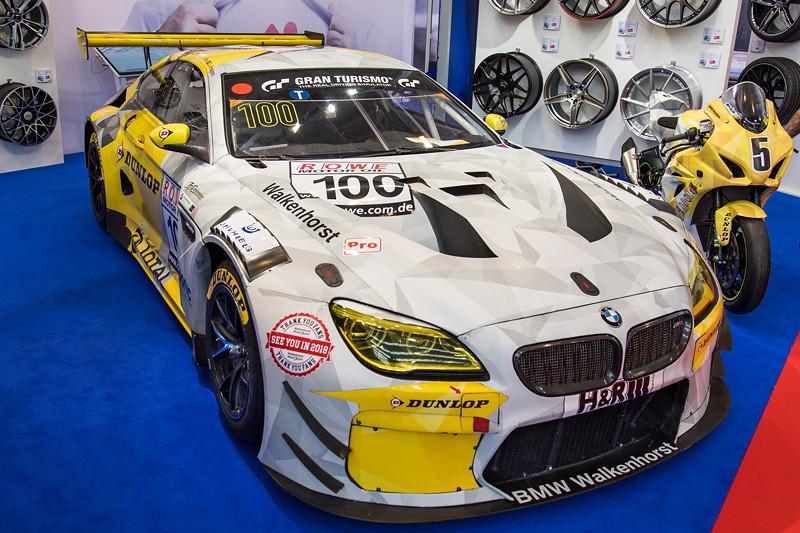 Essen Motor Show 2017: BMW M6 in der Motorsportvariante