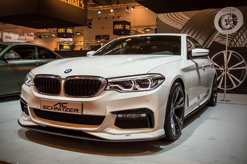 BMW 5er Limousine by AC Schnitzer auf der Essen Motor Show 2017