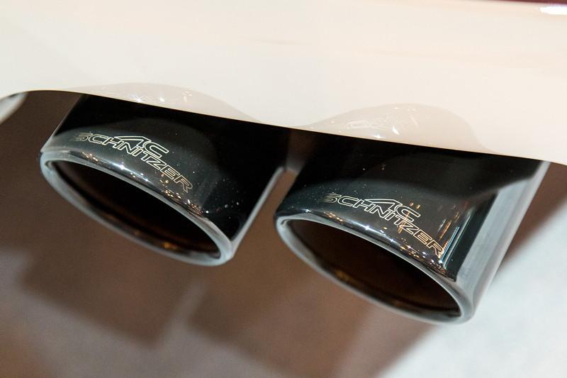 BMW 5er Limousine by AC Schnitzer mit neuer Auspuffanlage und Soundmodul.