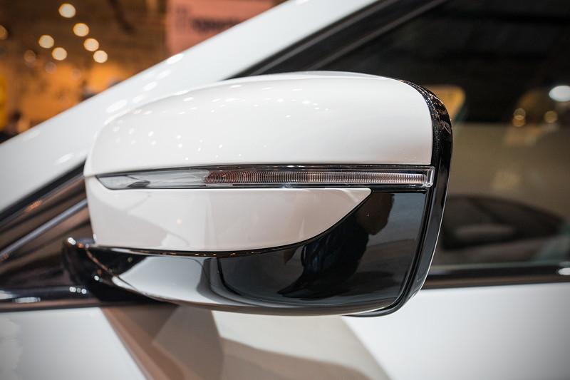 AC Schnitzer ACS5, Aussenspiegel unverändert in BMW-Optik.