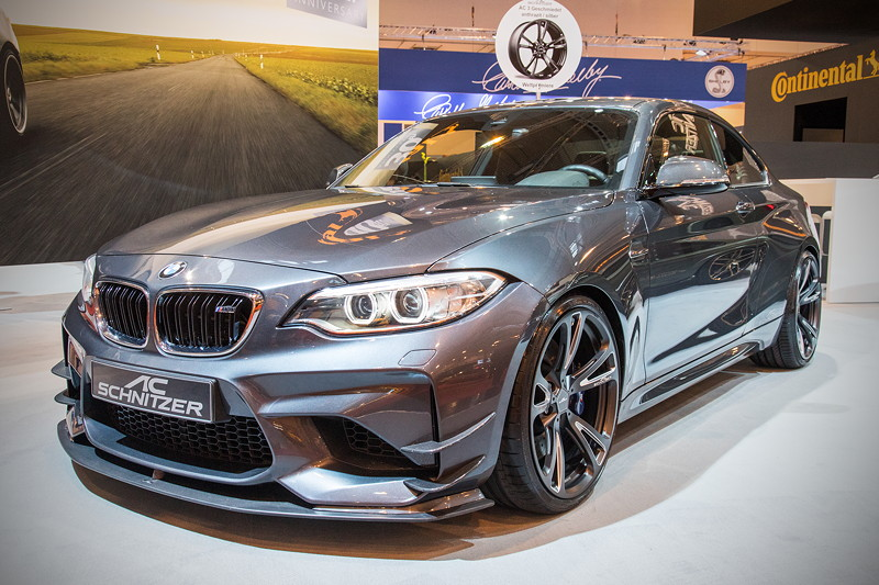 BMW M2 by AC Schnitzer mit AC Schnitzer Leistungssteigerung auf 420 PS und AC Schnitzer Ladeluftkühler.