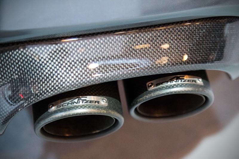 BMW M2 by AC Schnitzer, mit AC Schnitzer Heckschürzenfolie, AC Schnitzer Schalldämpfer mit Klappensteuerung.