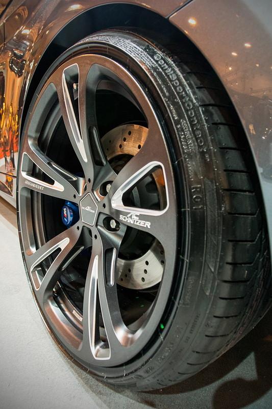 BMW M2 by AC Schnitzer auf AC3 Leichtbau Schmiedefelge BiColor Anthrazit/Silber