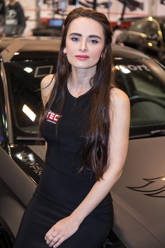 Essen Motor Show 2017: am Stand von TEC Speedwheels in Halle 2.