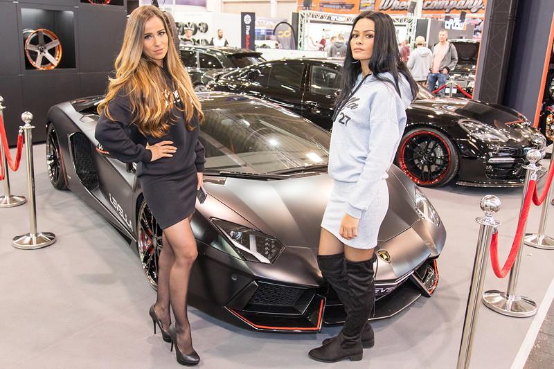 Essen Motor Show 2017: Cars und Girls.