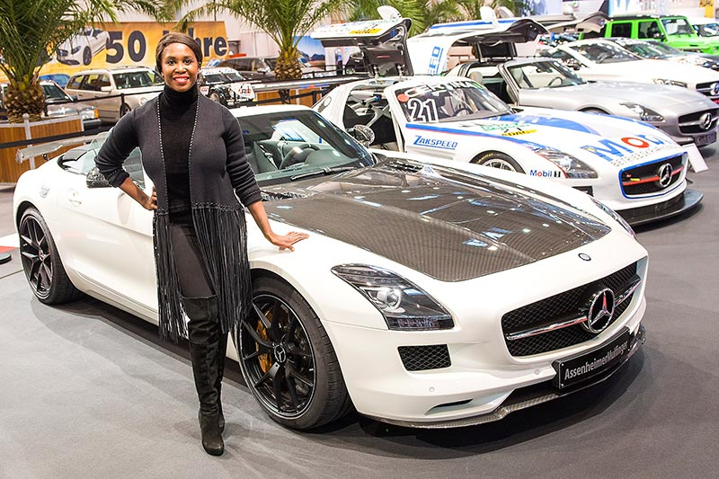 Essen Motor Show 2017: Motsi Mabuse