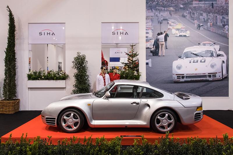 Porsche 959, in der Sonderausstellung '50 Jahre Super Sport Cars', Essen Motor Show 2017.
