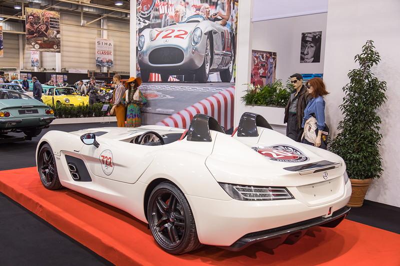 Mercedes-Benz SLR McLaren, im Jahr 2009 als SLR Stirling Moss angeboten.