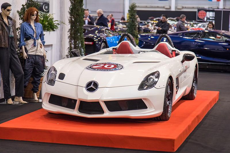 Mercedes-Benz SLR McLaren, 75 Exemplare wurden insgesamt gebaut. Essen Motor Show 2017.