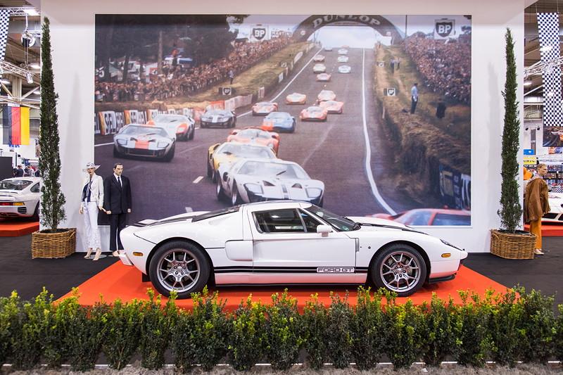 Ford GT in der Sonderausstellung '50 Jahre Super Sport Cars', Essen Motor Show 2017