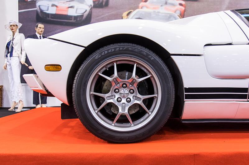 -Ford GT in der Sonderausstellung '50 Jahre Super Sport Cars', Essen Motor Show 2017.