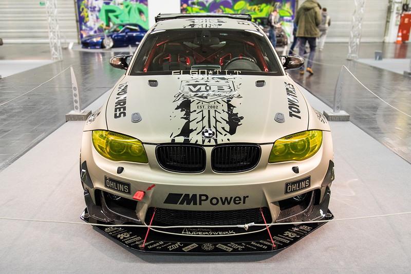 BMW 1er M Coupé (E82), N54 Motor mit 430 PS und 670 Nm.