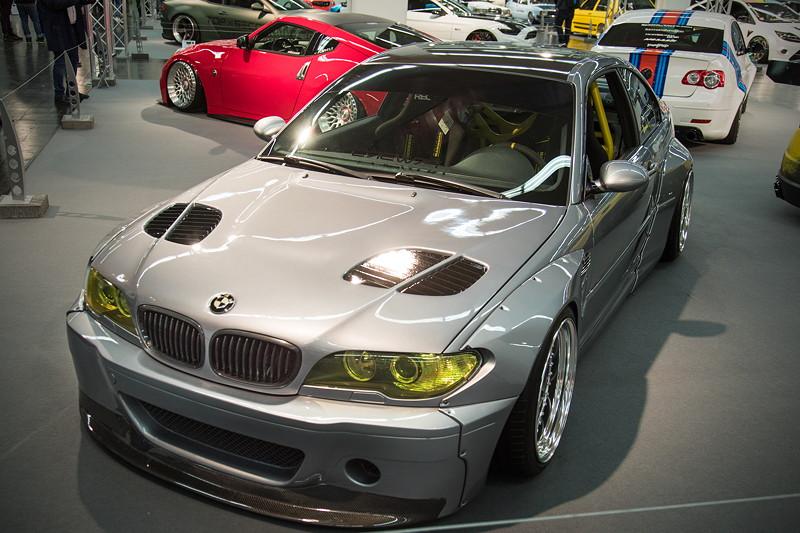 BMW 330 Ci (E46), Baujahr 02/2006, in der tuningXperience, Essen Motor Show 2017.