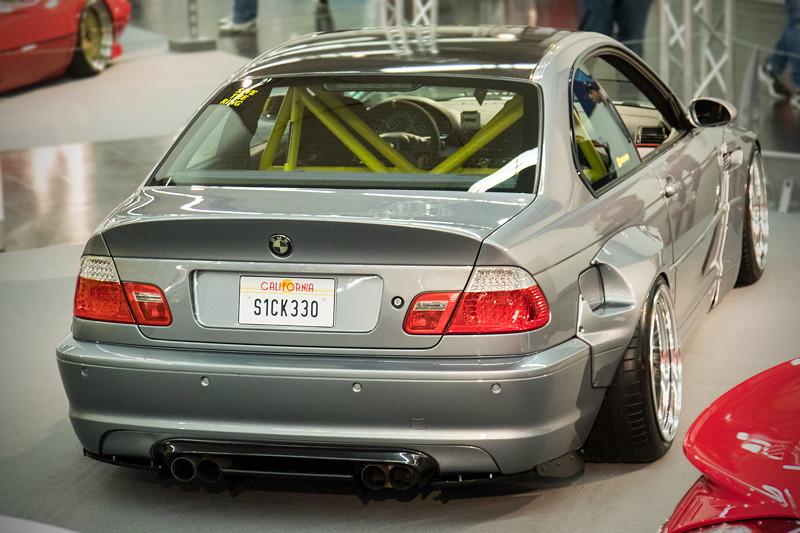 BMW 330 Ci (E46), M54B30 Motor mit 231 PS, mit M3 CSL Look Auspuffanlage.