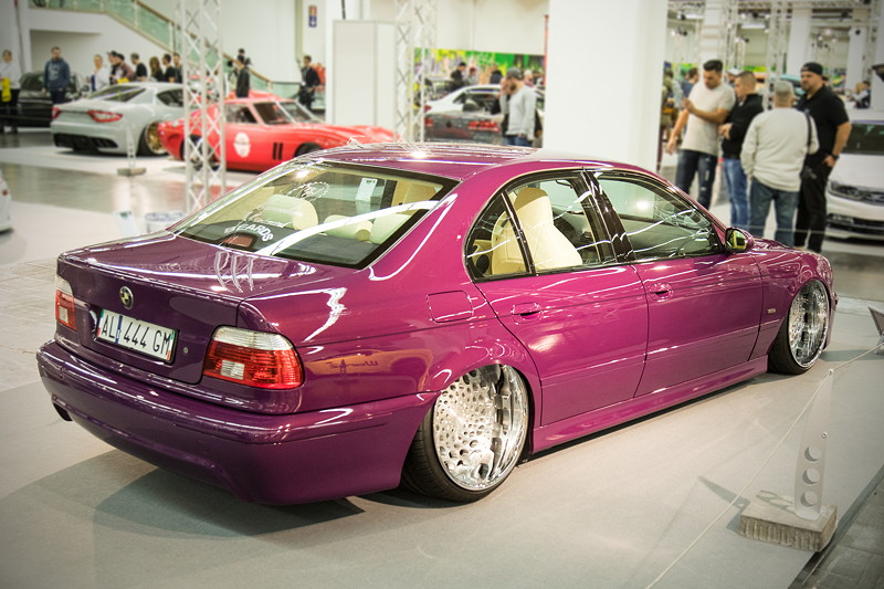 BMW 520i (E39), Baujahr 1996, mit orig. belassenem Motor, Leistung: 150 PS.