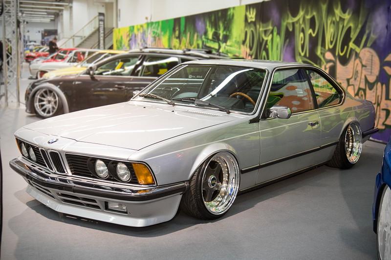 BMW 635CSi (E24), Baujahr: 1983, mit serienmäßigem 6-Zylinder-Reihenmotor, 218 PS.
