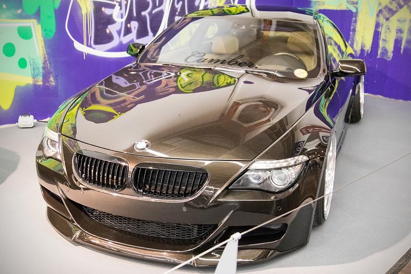 BMW 635d (E63), Baujahr 2008, 6-Zylinder-Dieselmotor mit 385 PS und 734 Nm.