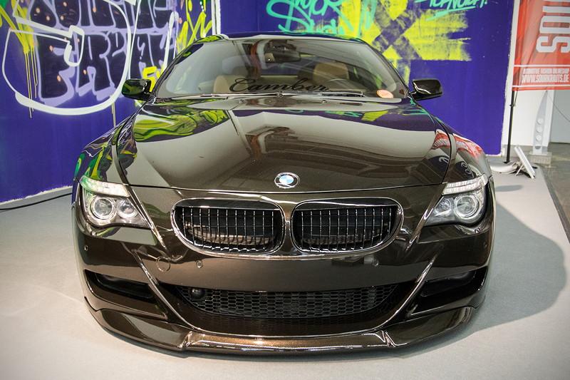 BMW 635d (E63), Front: Umbau auf BMW M6, Seitenwände verbreitert.