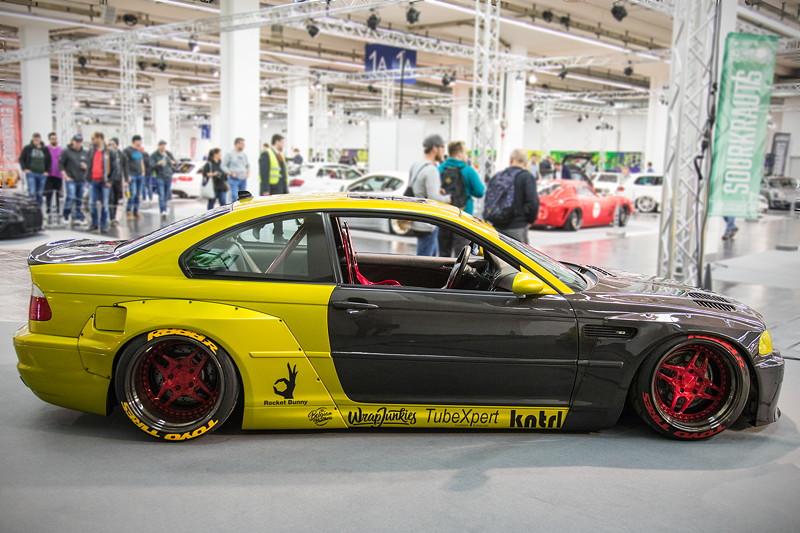 BMW M3 (E46), Baujahr: 2001, mit orig. S54-Motor, ausgestellt in der tuningXperience, Essen Motor Show 2017.
