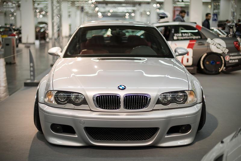 BMW M3 (E46), ausgestellt in der tuningXperience, Essen Motor Show 2017.