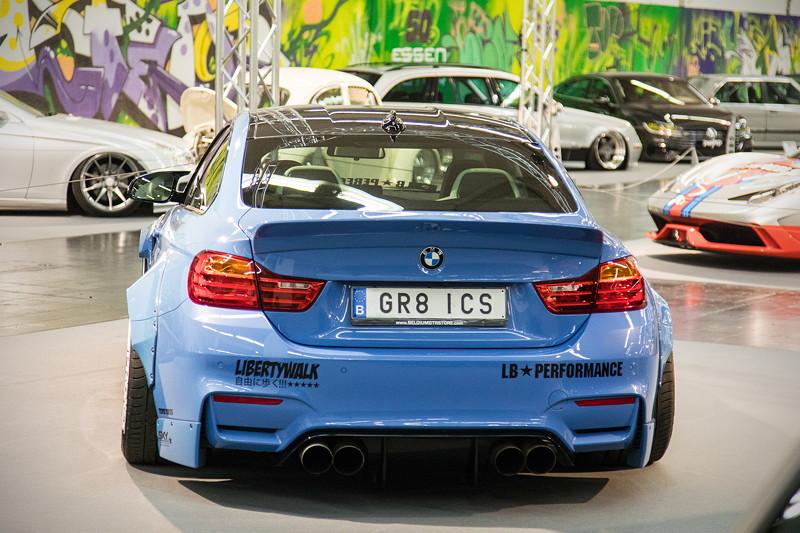 BMW M4 (F82), offizielles 'Demo Car' für die 'GRB-ICS' Automesse.