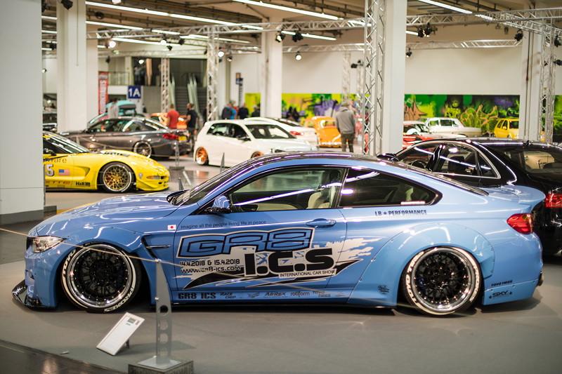 BMW M4 (F82). ausgestellt in der tuningXperience, Essen Motor Show 2017.