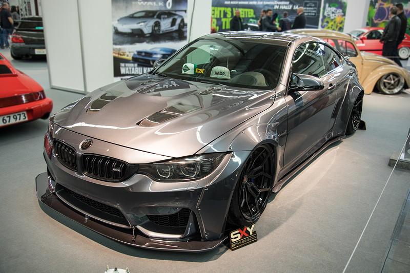 BMW M4, Baujahr 2014, mit 3,0 Liter Bi-Turbo Motor, Leistungssteierung auf 530 PS.