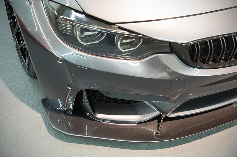 BMW M4 (F82), ausgestellt in der tuningXperience, Essen Motor Show 2017.