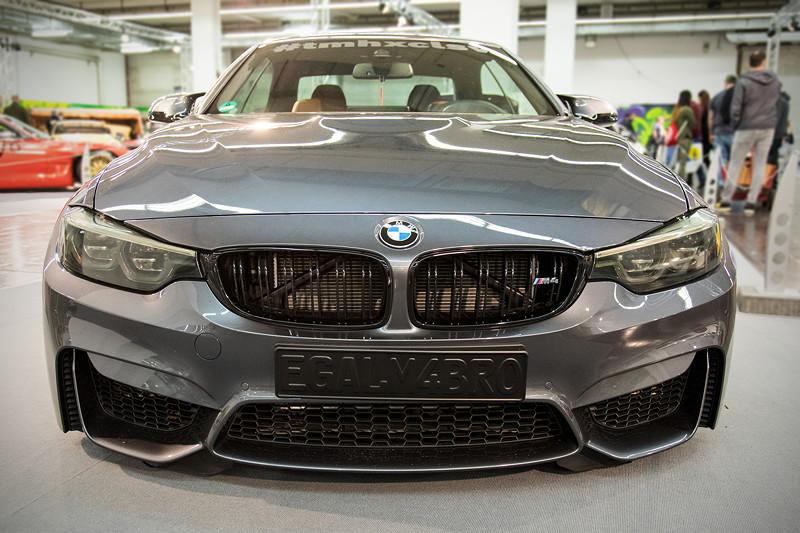 BMW M4 Cabrio (F83) mit Competition Paket, Fahrwerk HR Clubsport Gewindefahrwerk.