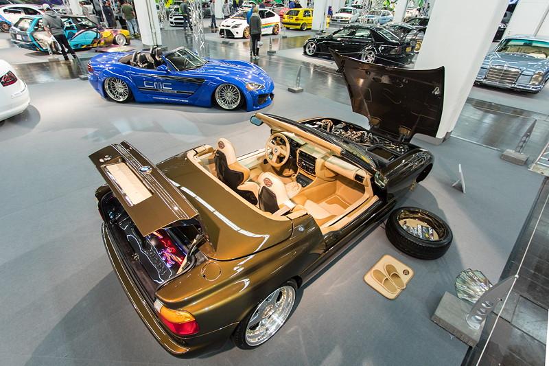 BMW Z1, ausgestellt in der tuningXperience, Essen Motor Show 2017.