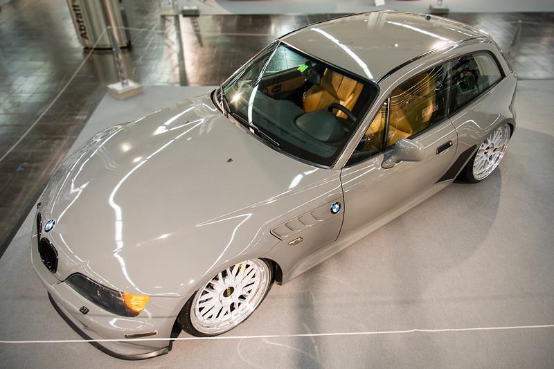 BMW Z3 Coupé, ausgestellt in der tuningXperience, Essen Motor Show 2017.