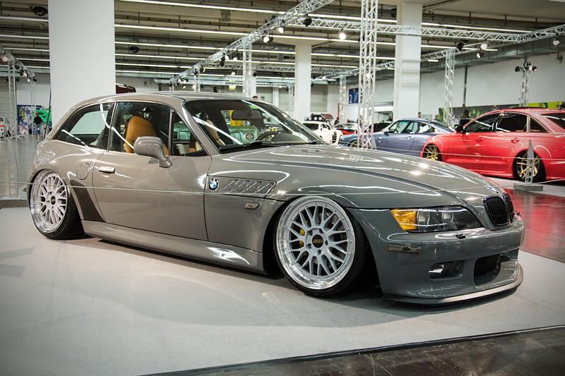 BMW Z3 Coupé, Baujahr 2001, ausgestellt in der tuningXperience, Essen Motor Show 2017.