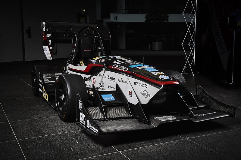 Formula Student Engagement der BMW Group: Der Rennwagen von 'AMZ-Racing' der ETH Zürich