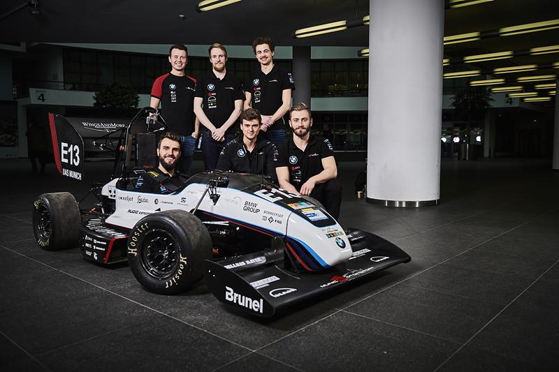 Formula Student Engagement der BMW Group: Team 'municHMotorsport' der Hochschule München startet im Driverless-Wettbewerb