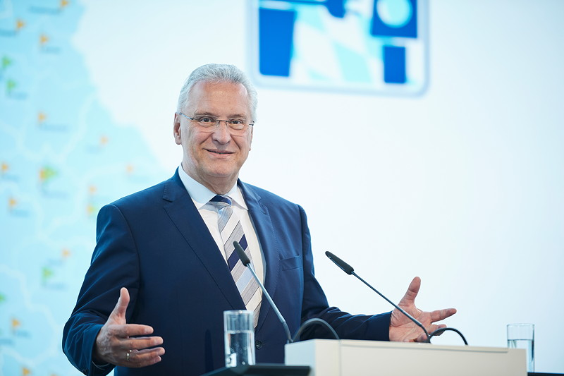 Joachim Herrmann, Bayerischer Staatsministers des Innern, für Bau und Verkehr.
