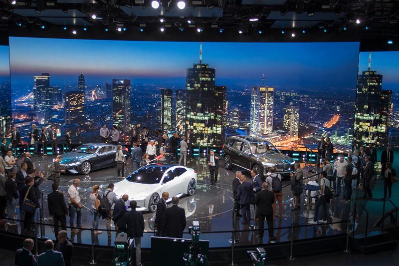BMW Bühne auf der IAA