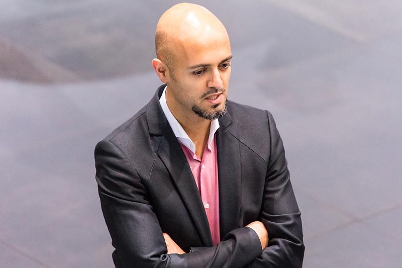 BMW Designer Nader Faghihzadeh am ersten Pressetag auf der IAA 2017