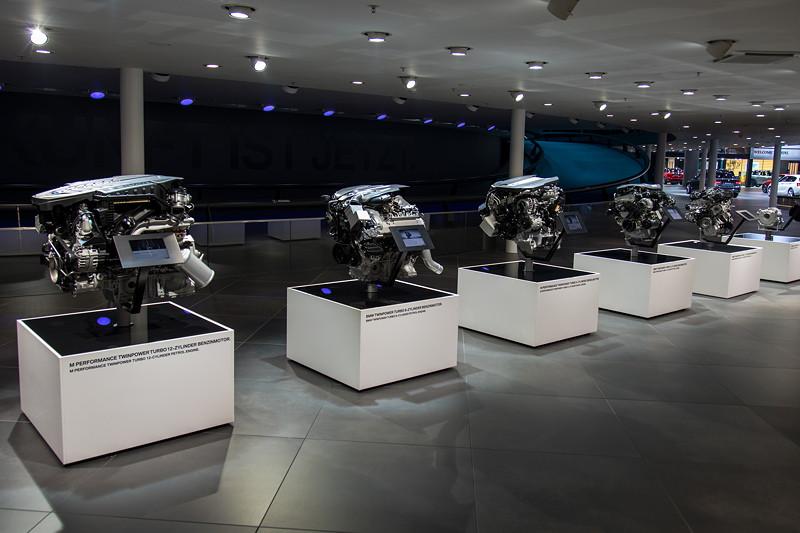 BMW Motorenausstellung auf der IAA 2017