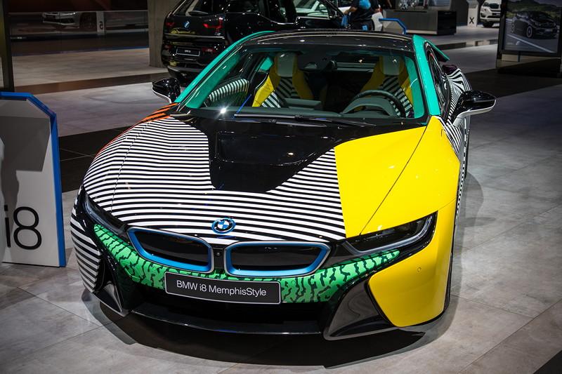 BMW i8 'Memphis Style' auf der IAA 2017